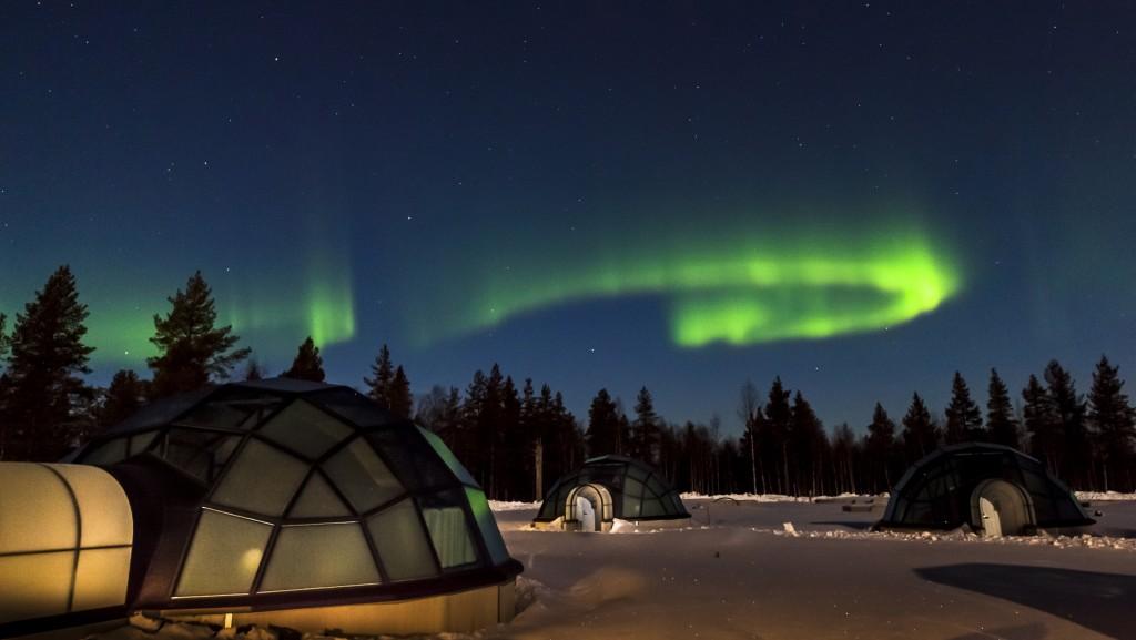 Lapland - Kakslautannen arctic resort