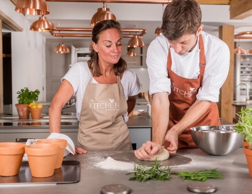 Chewton Glen Cookery School - The Kitchen