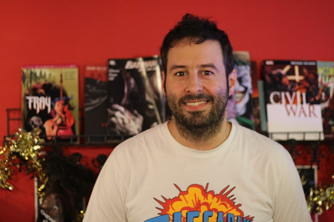 Rob Litchfield, creator of PIECARAMBA! Winchester