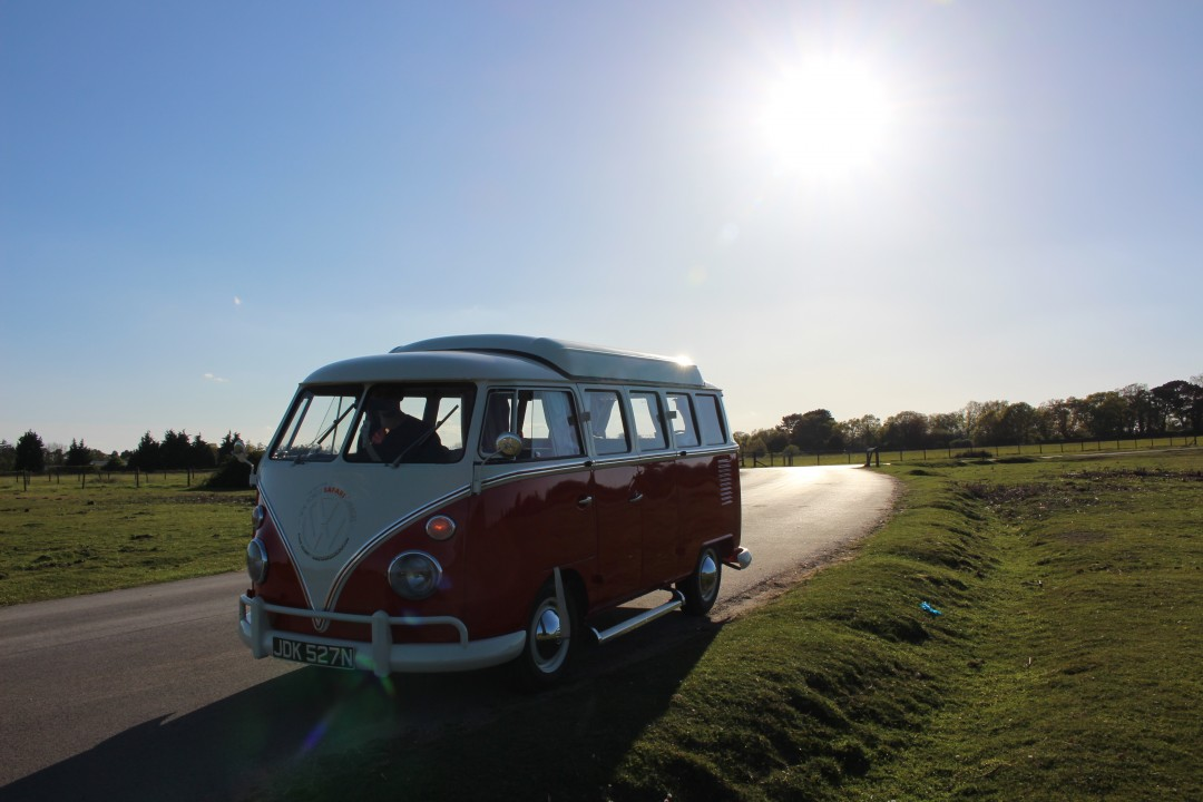 Flame - a New Forest Safari Campervan