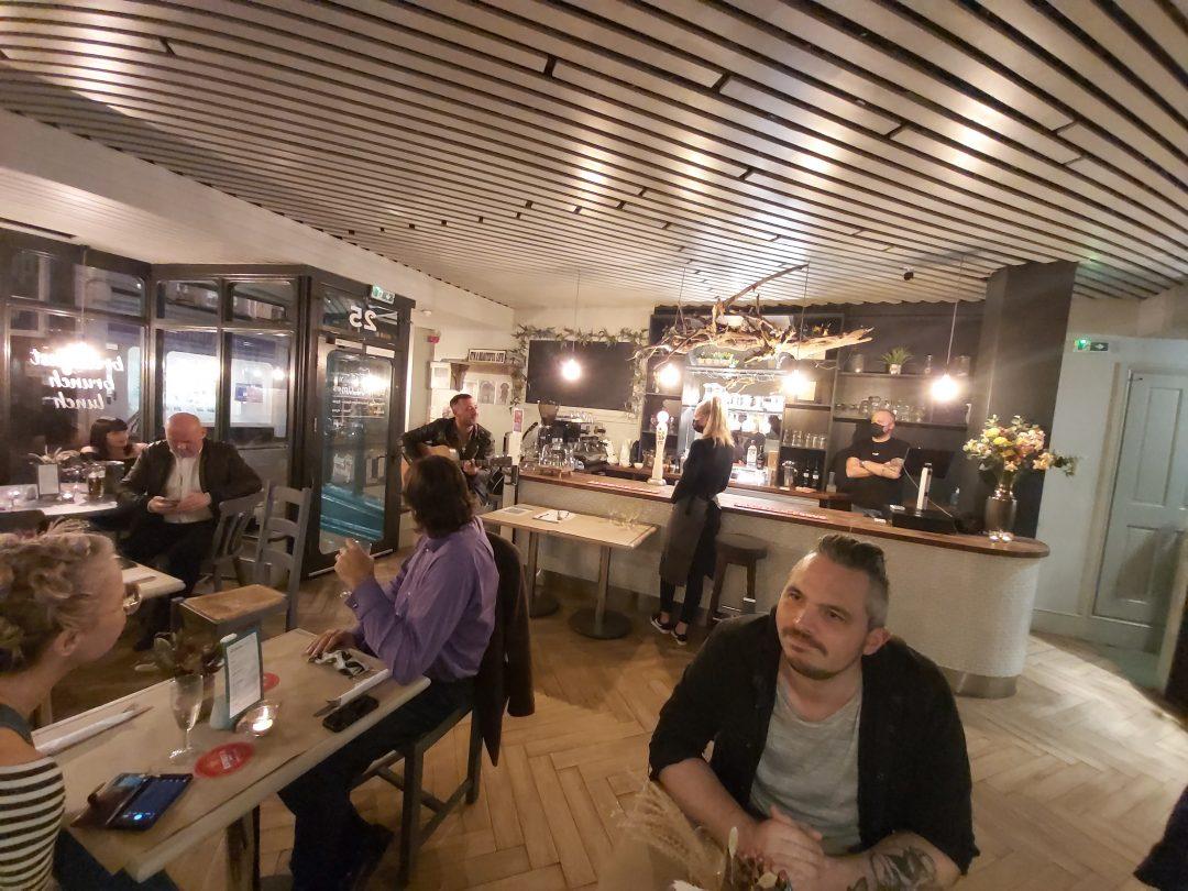 Sisters Cafe, interior, Marmion Road, Southsea