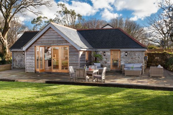 The Garden Barn accommodation in Cornwall